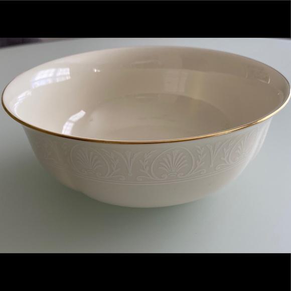 Lenox Courtyard Gold Serving Bowl